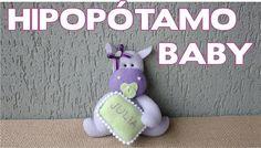 Hipopótamo Baby - Passo a Passo