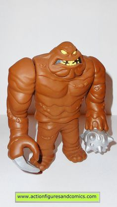 batman animated series CLAYFACE kenner hasbro action figures dc universe