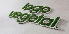 Seu logotipo, versão vegetal |