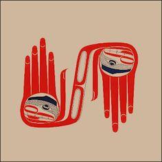 Saw Robert Davidson works at Seattle Art Museum Haida Kunst, Arte Haida, Haida Art, Native Canadian, Native American Art, Haida Tattoo, Seattle Art Museum, Tlingit, Native Design