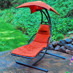 Algoma Cloud 9 Hanging Lounger - Hammock Chairs & Swings at Hayneedle