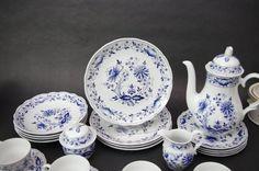 (4) Vtg Retsch & Co Wunsiedel Blue Onion Luncheon Plates Bavaria Porcelain  | Pottery & Glass, Pottery & China, Art Pottery | eBay!