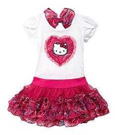 Hello Kitty 2T6X Tutu Dress #Dillards