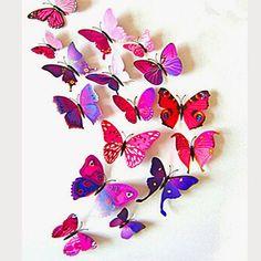 Living Styles: Motýlie krídla... dekorácie na stenu