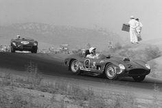 Phil Hill at Riverside Raceway 1959, in a Ferrari Testa Rossa.
