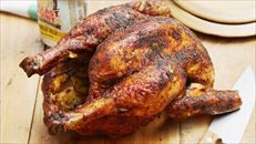 Bobby's Beer-Can Chicken