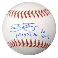 """Jim Palmer Autographed Official MLB Baseball Baltimore Orioles """"1973, 75, 76 Cy Young"""" PSA/DNA Stock #81029"""