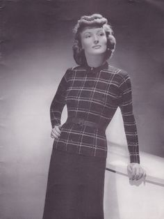 Get your fall/winter knitting started! I'm having a 40% off sale of all downloadable patterns in our store! Knit Or Crochet, Vintage Patterns, Kitsch, No Worries, Columbia, Fall Winter, High Neck Dress, Suits, Knitting
