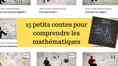 15 petits contes pour comprendre les mathématiques Adolescence, Cycle, Maths Tricks, Storytelling, Learning, Children, Gaming