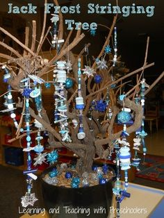 """Jack Frost Stringing Tree from Learning and Teaching with Preschoolers ("""",)"""