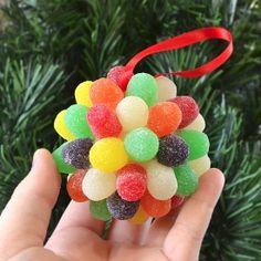 These deliciously pretty ornaments are super simple to make!