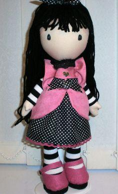 My version of Gorjuss girl doll!