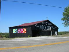 Rock City Barn by jimmywayne, via Flickr