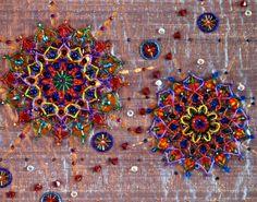 I ❤ beadwork . . .  Infinity Mandala ~By Nancy Eha
