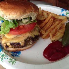 I'm a burger lover!!