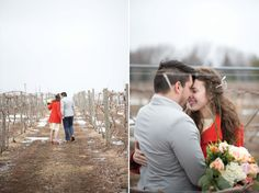 Midwest Winter Love { Styled Shoot }