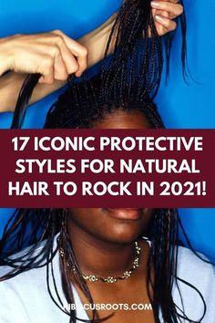 One easy way to maintain the health of your natural hair further is by incorporating protective styles. By this, we mean using protective hairstyles to shield the ends of your natural hair from… More How To Grow Natural Hair, Long Natural Hair, Natural Hair Updo, Natural Hair Styles For Black Women, Natural Styles, Natural Hair Growth, Long Hair Styles, Cute Natural Hairstyles, Protective Hairstyles For Natural Hair