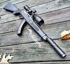 Ruger 10/22 Supressed Takedown. Great rifle for those looking to get into precision shooting. One of my favorites.