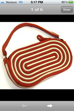 Pill shape cord purse