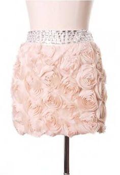 rosette skirt
