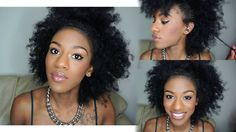 CLICK HERE: https://youtu.be/h4f6RXoNy2Q See 5 different ways to style natural hair