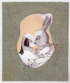 St Valentine  Day  Giclee print, fine art, Real love. $40.00, via Etsy.