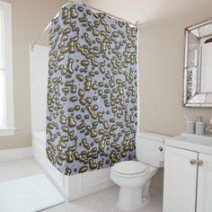 Arany cseppek. Zuhanyfüggöny Custom Shower Curtains, Powder Room, Keep It Cleaner, Drop, Abstract, Pattern, 3d, Design, Summary