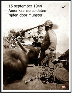 Amerikaanse soldaten in Munsterbilzen
