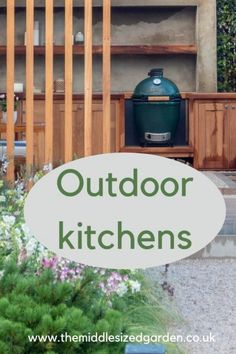 Extend outdoor living with a kitchen in your garden #middlesizedgarden