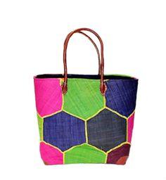 Mamy – Hexagon (Yellow thread) – Akua's Boutique