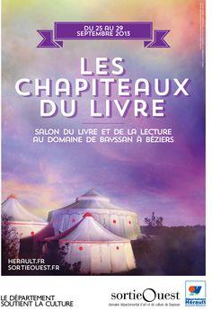 Béziers : Les Chapiteaux du Livre @ SortieOuest   Béziers   Languedoc-Roussillon   France