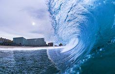 Cómo meter las olas en el salón de tu casa. Descubre más en www.elasombrario.com