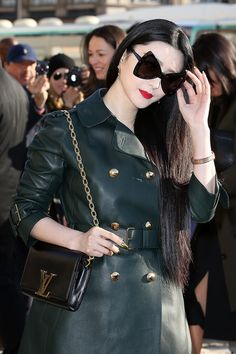 Fan Bingbing - Arrivals at the Louis Vuitton Fall 2014 Show