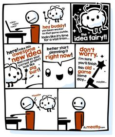 #CSS The Idea Fairy is your friend sort of. (via TheMeatly) #DevHumor #GameDev http://pic.twitter.com/4Qf0onvyAQ   Develop SoftwarePro (@s0ftwareDevel0p) August 19 2016