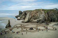 Healing labyrinth bandon oregon