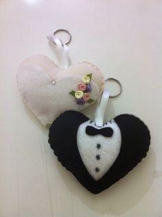 Eu Amo Artesanato: Lembrancinha de casamento noivinhos com moldes