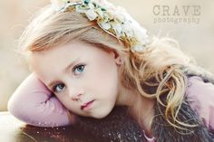This little girl is a beauty and this pose is great! Magical capture!