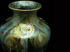 Wedgwood Fairyland Lustre | Daisy Makeig-Jones | Vase | ca. 1914-1931 English