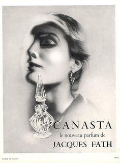 Jacques Fath (Perfumes) 1937 Canasta