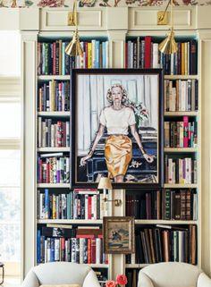 alex hitzs los angeles house bookshelves pinterest leopold stokowski conductors and bookshelf design - Bookshelves Los Angeles