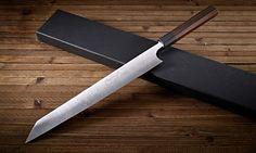 The beautiful Kotetsu Sujihiki knife.
