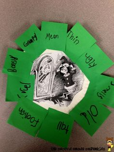 """""""How the Grinch Stole Christmas"""" character trait wreaths Life Skills Classroom, Grinch Stole Christmas, Xmas, 5th Grade Reading, Character Trait, Mentor Texts, Christmas Characters, Reading Workshop, School Themes"""