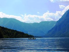 Lake Bohinj, Slovenia. One of the most beautiful & peaceful places in Slovenia.