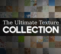 The Ultimate Texture Collection - 100 Premium Textures for $15