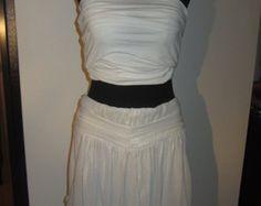 Skirt White Metallic - Artikel bearbeiten - Etsy