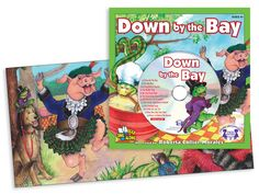 Down By the Bay  The rhyming words in this classic children's song and the extraordinary illustrations make learning fun and easy. Track 1 is the story sung word-for-word so children can follow along with each page! Tracks 2 to 12 include other all-time favorite children's songs!  $4.99