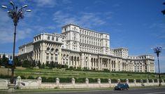 Romania's Parliament Palace, Bucareste, Roménia
