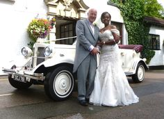 Richard and Lynda posing for some photos on arrival at Ullesthorpe Court Hotel. A lovely Wedding with a very relaxed and happy couple. So pleased they got a fair share of the sunshine.