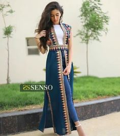 Pakistani Fashion Casual, Indian Fashion Dresses, Abaya Fashion, Kpop Fashion Outfits, Girls Fashion Clothes, Stylish Dresses, Stylish Outfits, Afghani Clothes, Mode Abaya