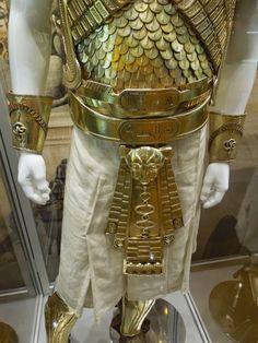 Exodus: Gods and Kings Ramesses II armour costume detail